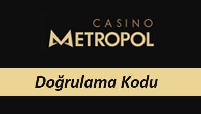 Casinometropol Doğrulama Kodu