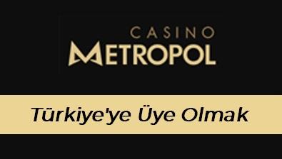 Casinometropol Türkiye'ye Üye Olmak
